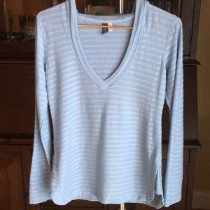 Ibex Wool Blend Hooded  Lightweight Sweater Sz Med